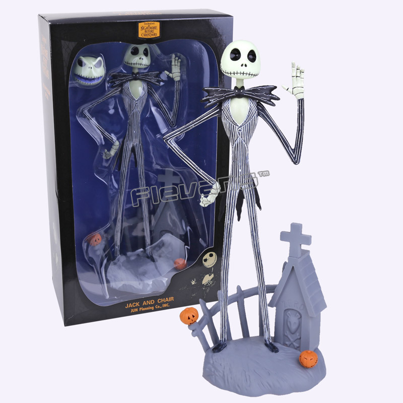 The Nightmare Before Christmas Jack Skellington PVC Action Figure Collectible Model Toy Gift 12 30cm<br>