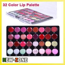 Professional Mini 32 Color Lipstick Palette Makeup Artist Highly Recommend Moisture Lip Gloss Set(China)