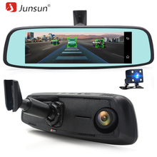 "Junsun 4G Special Bracket Car Camera Mirror 7.86"" IPS Touch Android 5.1 GPS Navigation WIFI Dash Cam ADAS Remote Video Recorder(China)"