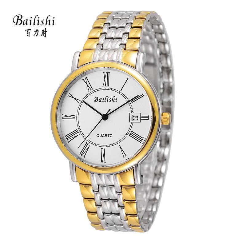 BAILISHI 2017 Fashion Top Brand Designer Mens Watch Quartz Watches Masculinity Relogio Feminino Stainless Steel Male Clocks<br>
