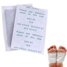 100pcs/lot kinoki detox patch Detox Foot care tool massage spa Pads Patches with adhesive, Cleanse & Energize your Body