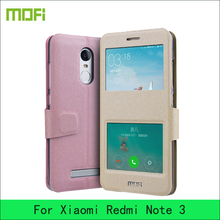 For Xiaomi Redmi Note 3 /Redmi Note 3 Pro Case Original Mofi Luxury Flip PU Leather Stand Case For Xiaomi Redmi Note3 Cover(China)