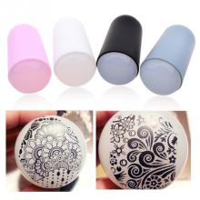 Brand New Nail Art Silicone Gel Stamp Template Tool Printing Silicone Super Soft Nail Art Stamp