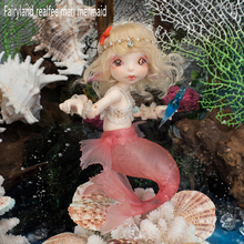 OUENEIFS Fairyland Realfee Mari mermaid bjd 1/7 body model reborn baby girls boys doll eyes High Quality toys shop make up resin