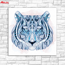 tiger head animal Oil Painting Wall Art Picture Paiting Canvas Paints Home Decor Abstract Print Painting Modern Wall Decor color
