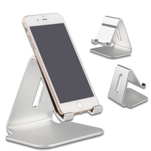 Aluminum Universal Charging Stand Charger Dock Holder For iPhone 7 6 6S Plus Samsung Xiaomi Redmi For ipad mini tablet Holder(China)