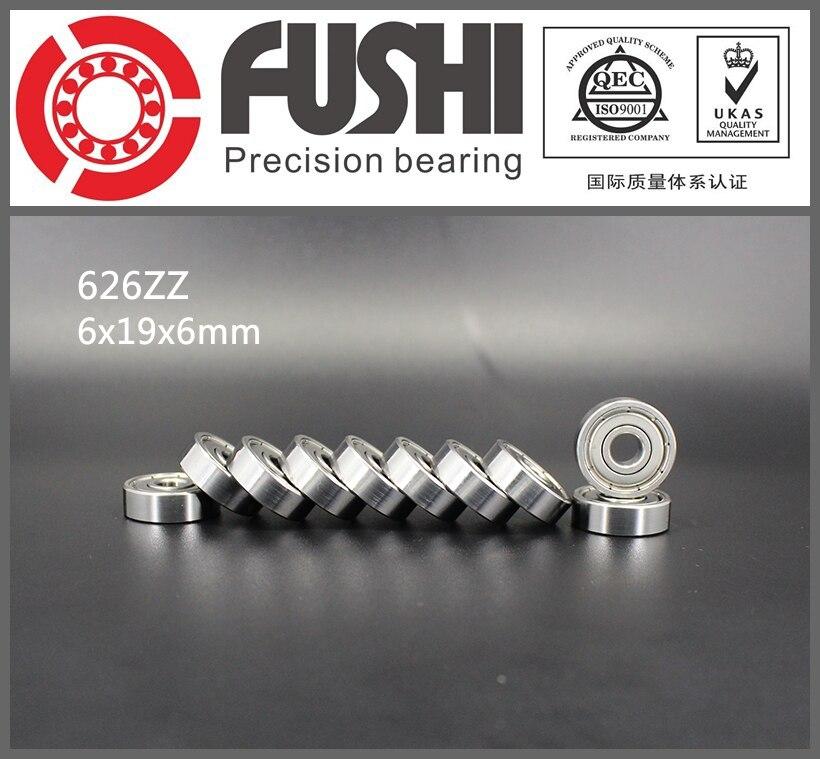 626ZZ Bearing ABEC-5 10PCS 6X19X6 mm Miniature 626Z Ball Bearings 626 ZZ EMQ Z3V3 Quality<br><br>Aliexpress