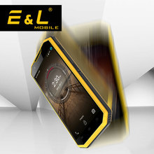 E&L W7 Original China Mobile Phone HD Waterproof Shockproof Phone ip68 Smartphone android 6.0 Phones 4G Cell 16GB Touch Phone