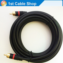 15ft 5M Digital Coaxial Audio/Video RCA Cable Cord RG6/U (for  Digital Coax, Subwoofer, and Composite Video)