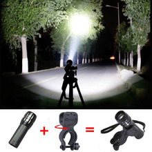 New led bycicle light 2000 Lumens 3 Mode CREE Q5 LED Bike Light set luz bicicleta led Front Head Light Torch Lamp with Mount(China)
