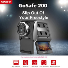 "PAPAGO GoSafe200 Car DVR Camera Novatek 96650 Full HD 2.0"" LCD 130 Degree Angle sliding Cover Video Recorder Cam DVRs Dashcam(China)"
