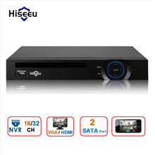 2HDD 16/32CH CCTV NVR 960P 1080P 3M 5M DVR Network Video Recorder H.264 Onvif 2.0 for IP Camera 2 SATA XMEYE P2P Cloud Hiseeu(China)