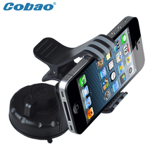 Cobao Universal phone Holder Car Windshield Sticky Clip Mobile Phone Stand For Huawei Mate9 Samsung Galaxy Note 2 For GPS
