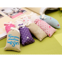 5pcs/lot Natural plant moth proof fragrance bag sachets, for Aromatherapy Automobile Closet