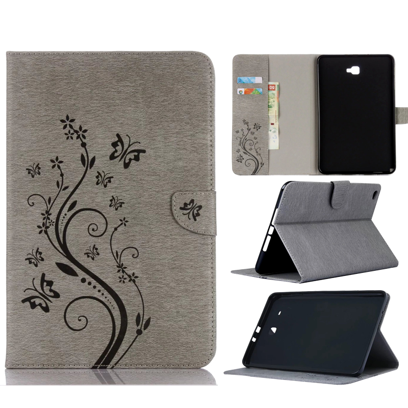 High Quality beautiful printing flip leather Case Cover For Samsung Galaxy Tab 4 10.1 SM T530 T531 Tablet case stand cover<br>