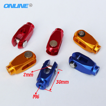 Free Shipping CRF Anodized CNC Alloy Rear Brake Clevis For CR125 CRF 150R 250R 250X 450R 450X Motorcross Dirt Bike