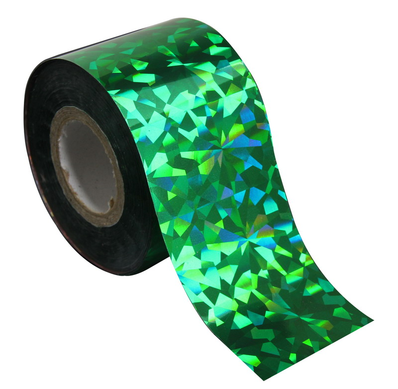 1 Roll 120m*4cm Nail Transfer Foil Transfer Film Holographic Glitter Nail Art Stickers Glitter Green Color Nail Decal WY239<br><br>Aliexpress