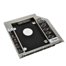 "Universal 9.5mm Second HDD Caddy 2nd SATA 3.0 Hard Disk Drive 2.5"" SSD Enclosure for Macbook Pro Air etc CD DVD ROM"