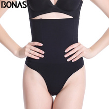 BONAS Plus Size Slim Shapewear Women Slimming Belt Corset Waist Solid Polyester Shaper Trainer Cinchers Corrective Hot Body(China)