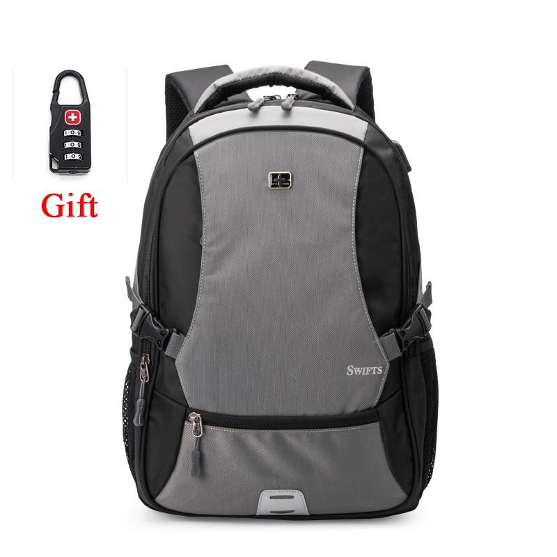 Rechargeable 840D Nylon Backpack Waterproof Mens Back Pack Laptop Mochila High Quality Designer Backpacks Male Escolar+Lock<br><br>Aliexpress