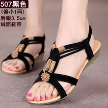 Women Sandals 2016 Flat Sandals Summer Shoes Flip Flops Women Beach Sandals Black Zapatos Mujer