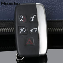 Mgoodoo 5 Buttons Smart Remote Car Key Shell Cover Case For LAND ROVER LR4 Range Rover Sport Evoque Replacement Key Fob Case(China)