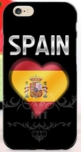 Spain hymn and flag cell phone bags case cover for iphone 4S 5S 5C SE 6S 7 PLUS Samsung S3 S4 S5 S6 S7 note IPOD Touch 4 5