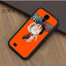 SCOZOS Luffy One Piece Anime cell phone case cover for samsung galaxy S3 S4 S5 S6 S7 S8 S6 edge S7 edge note 3 note 4 note 5(China)