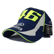 IGGY 2017 High Quality MOTO GP 46 Motorcycle 3D Embroidered F1 Racing Cap Men Women Snapback Caps Rossi VR46 Baseball Cap Hats