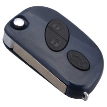 2015 new ! 3 Button Remote Key Case Fob for Maserati GRAN TURISMO QUATTROPORTE Uncut Blade