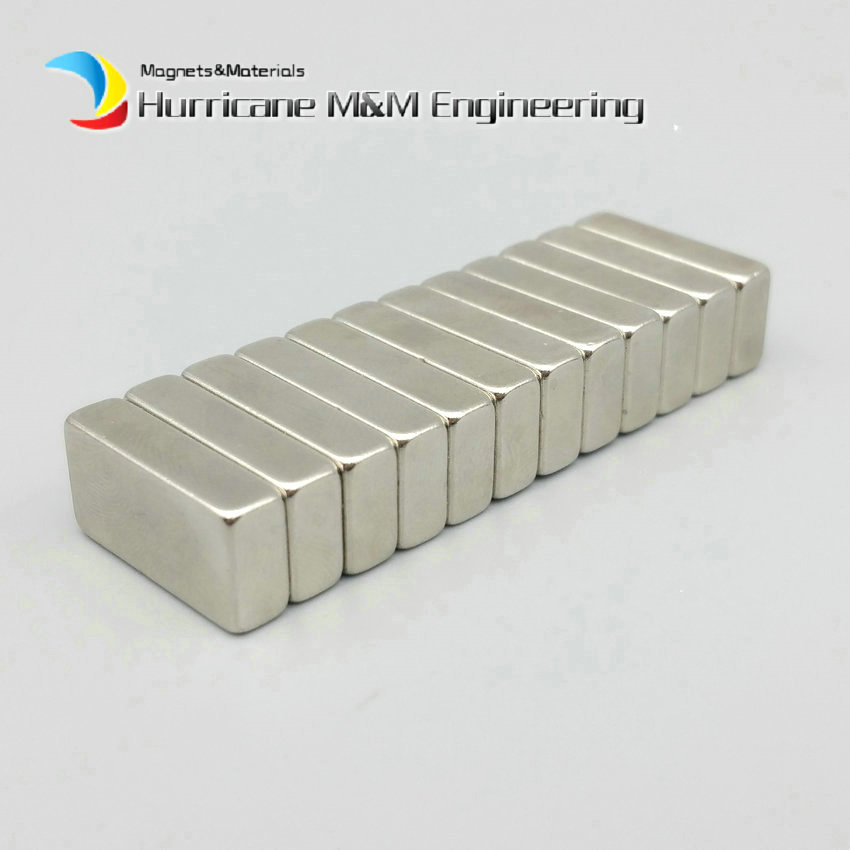 1 pack Grade N35SH NdFeB Magnet Block for Automotive Oil Filter 20x10x5 mm Strong Neodymium Magnets 150 degree C. Filter Magnets<br>