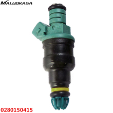 MALUOKASA Car Fuel Injector Set For BMW 323i 325i 525i M3 2.5L 3.0L 0280150415 High Flow Matched Car-styling Auto Replacement(China)