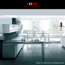 Modern lacquer customized modular kitchen cabinet(China)