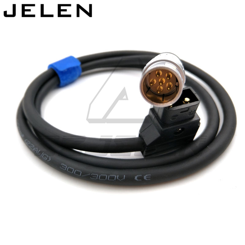 Red One Camera power cable 1M , DC Power Adapter Cable 2B 6-Pin Male to D-TAP for Red One Camera<br>