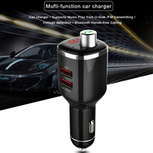 Buy Portable Fm Transmitter Bluetooth Handsfree Car Kit Audio Car Mp3 Player Wireless Bluetooth Transmitter Handsfree Charger for $9.05 in AliExpress store