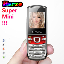 Original FORME T3 Russian Keyboard phone Super mini phone ! Metal back cover unlocked mobile cell phone(China)