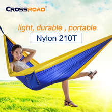 NEW Garden swing Sleeping bed small single hanging chair portable hammock parachute nylon rede swing chair Camping hamaca kids(China)