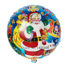 TSZWJ F-007 The new children's toys birthday party decorations cartoon Santa Claus balloon wholesale 18 inches(China)