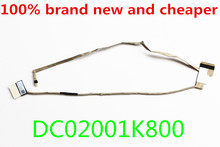 NEW LCD CABLE FOR Samsung NP350V5C 355V5C 350V5C 355E5C  DC02001K800 LCD LVDS CABLE