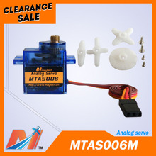 Maytech rc cars, helicopter and airplane 1.3kg.cm at 4.2V Metal gear Analog servo(China)