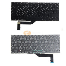 "Laptop Replacement Keyboard A1398 RU Keyboard For Apple Macbook Pro 15"" Retina 2013 2014 2015 Russian layout"