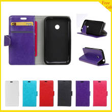 "Luxury Wallet PU Leather Cell Phone Case Capas Para For Vodafone Smart First 7 First7 VF200 3.5 "" Case Flip Leather Back Cover(China)"