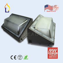 10PCS/LOT US warehouse 60W/80W/100W  LED wall pack light Waterproof  85-277V garden wall pack lampAC100-277V(China)