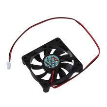 Desktop PC Case DC 12V 0.16A 60mm 2 Pin Cooler Cooling Fan