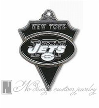 New York american football world championship contenders Jets team charms chains dangle pendants ON SALE NE0957(China)