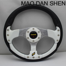High quality Special racing momo steering wheel / PU 13 inch steering wheel / Universal steering wheel multi-color options
