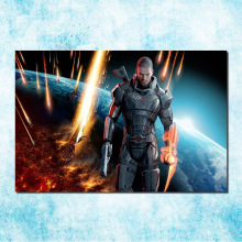 Mass Effect 2 3 4 Hot Shooting Action Game Art Silk Canvas Poster 13x20 24x36 inch Pictures For Living Room Decor (more)-8