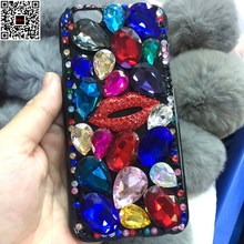 For Samsung Galaxy A5 2015 2016 2017 A510 A520 A500 Jewelled Butterfly Crown Cat Cross Crystal Diamond Rhinestone Phone Case(China)