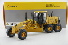 new Fine Original factory 1:35 Shandong Lingong G9190 grader model Alloy engineering machinery model Collection model Holiday