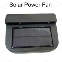 New Solar sun Power Auto Ventilator Cooler Air Vehicle Radiator vent With Rubber Stripping Car Window Fan